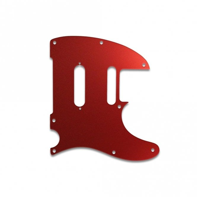 WD Music Telecaster Modern Player Plus - Red Mirror