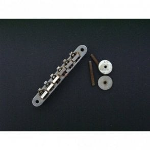 ABR-1 Tune-O-Matic Bridge No Retaining Wire, Relic Aged Finish, Suitable For Gibson Guitars