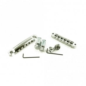 Locking Standard Tune-O-Matic/Tailpiece Set (Small Posts/Unnotched Saddles)