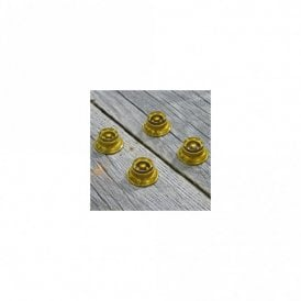 Top Hat knob Set Gold (Set Of 4)