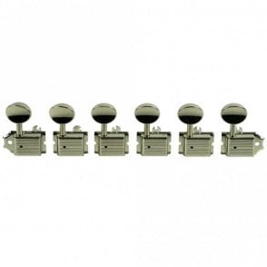 Traditional 6 In Line Tuners, No Kluson Logo Stamp