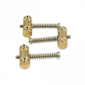 Slotted Brass Saddle Set With Dual Access Screws