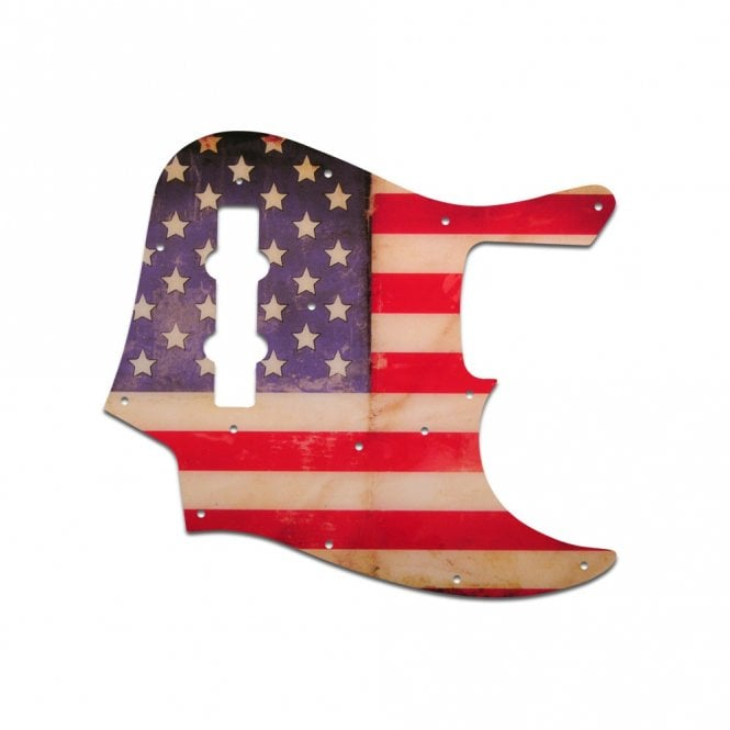 WD Music Vintage 62-64 Jazz Bass - American Flag Relic