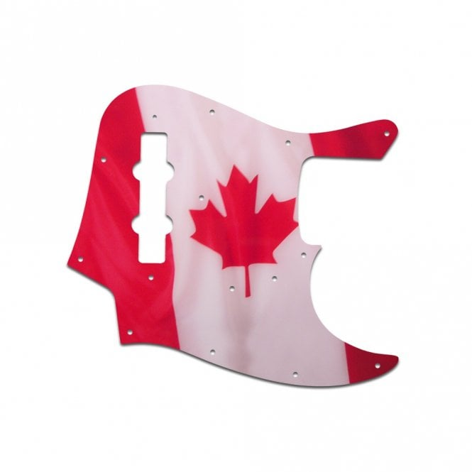 WD Music Vintage 62-64 Jazz Bass - Canadian Flag