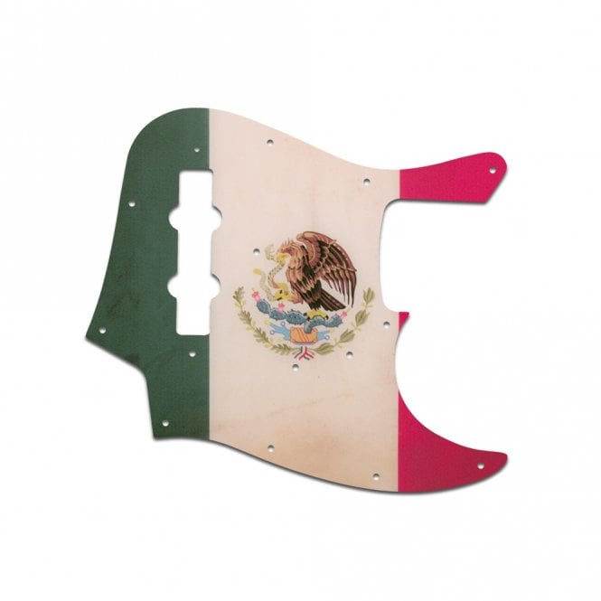 WD Music Vintage 62-64 Jazz Bass - Mexican Flag Relic