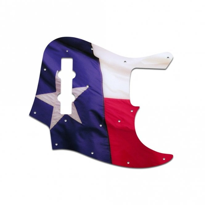 WD Music Vintage 62-64 Jazz Bass - Texas Flag