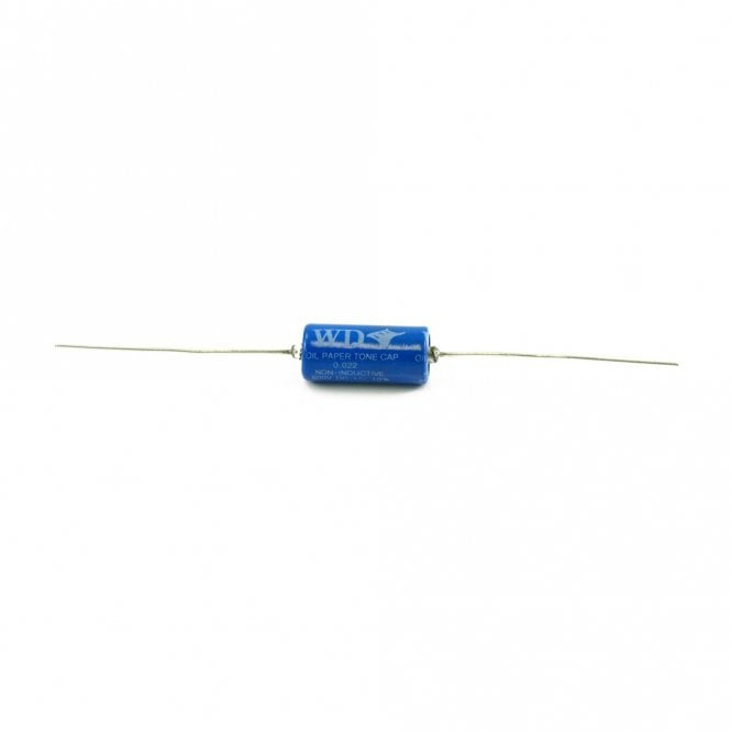 WD Music .022 Oil-Paper Tone Capacitor For Humbucker Pickups