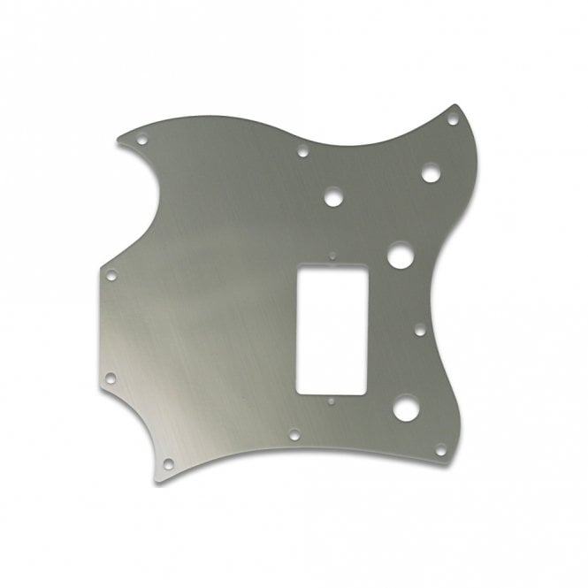 WD Music 2011 Gibson Sg Melody Maker - Brushed Silver (Simulated)