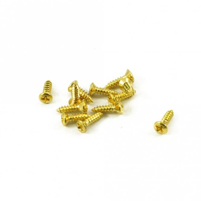 WD Music #3 Gibson Pickguard Screw Gold (Bag Of 12 )