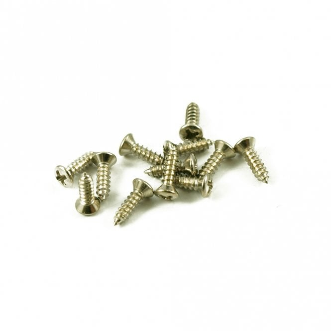 WD Music #3 Gibson Pickguard Screw Nickel (Bag Of 12 )