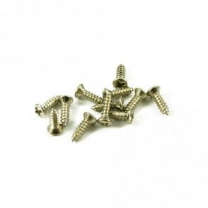 #3 Gibson Pickguard Screw Nickel (Bag Of 12 )