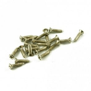 #4 Fender Pickguard / Scratchplate Screw Nickel (Bag Of 20 )