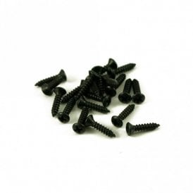#4 Fender Pickguard Screw Black (Bag Of 20 )