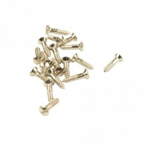 #4 Fender Pickguard Screw Nickel Slot Head (Bag Of 20 )