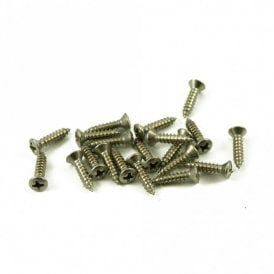 #4 Fender Pickguard Screw Stainless Steel (Bag Of 20 )