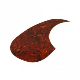 Acoustic Pickguard Brown Tortoiseshell Left Handed