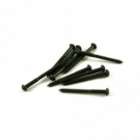 Bass Pickup Screw Black (Bag Of 10 )