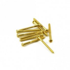 Bass Pickup Screw Gold (Bag Of 10 )