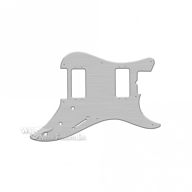 WD Music Bullet 2 Humbuckers - Brushed Silver (Simulated)
