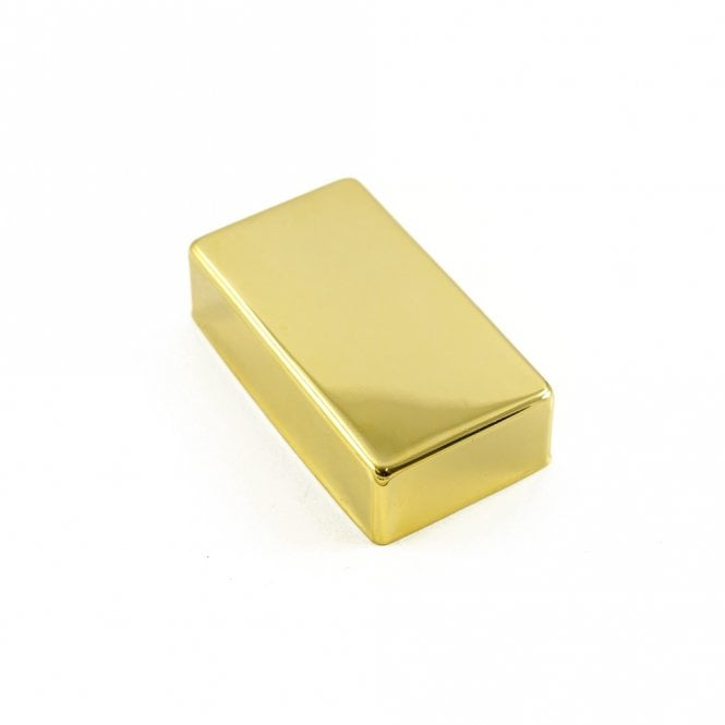 WD Music Closed Metal Humbucker Cover Gold