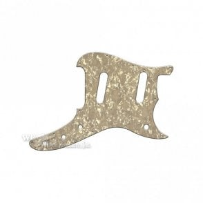 Duosonic Replacement Pickguard for Reissue Model - Aged Pearl
