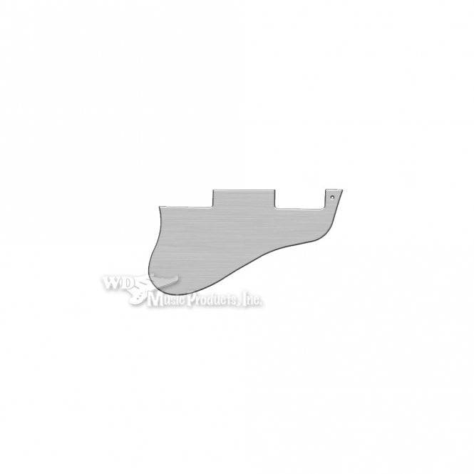 WD Music ES-335 Replacement Pickguard for USA 1960's Era Original and Reissue Models - Brushed Silver (Simulated)