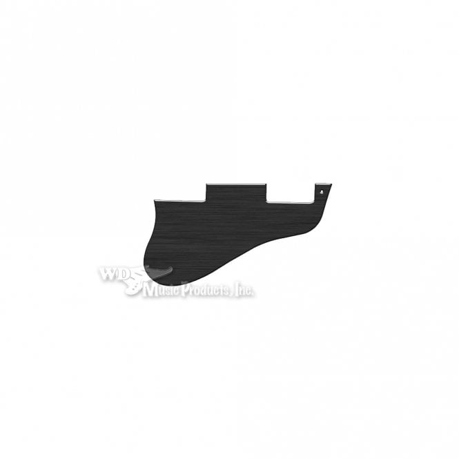 WD Music ES-335 Replacement Pickguard for USA 1960's Era Original and Reissue Models - Thin Simulated Black Anodised