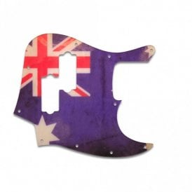 Fender Blacktop Jazz Bass - Aussie Flag Relic