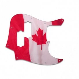 Fender Blacktop Jazz Bass - Canadian Flag