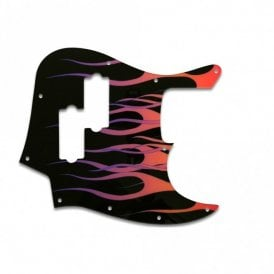 Fender Blacktop Jazz Bass - Hot Rod Flames