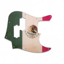 Fender Blacktop Jazz Bass - Mexican Flag Relic