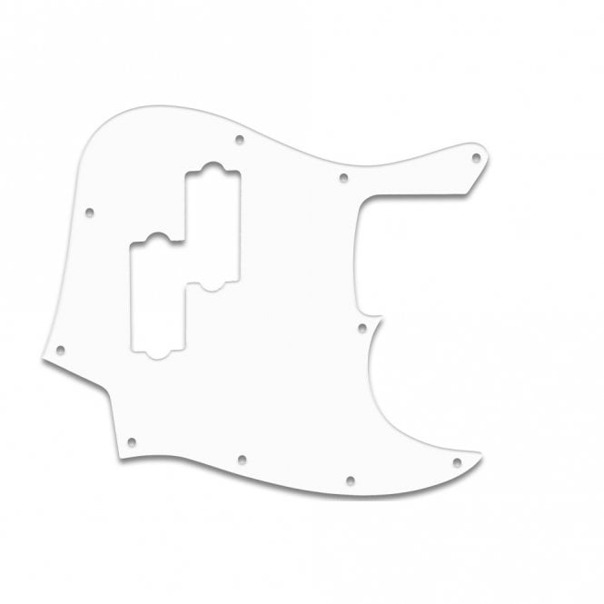 WD Music Fender Blacktop Jazz Bass - Wht .090