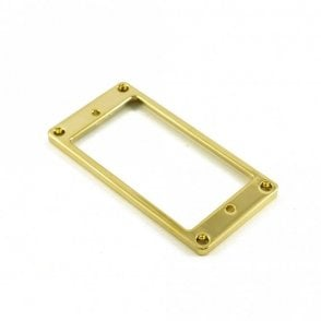 Humbucker Mounting Ring Low Gold (Metal)