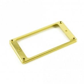 Humbucker Mounting Ring Low Gold (Plastic)