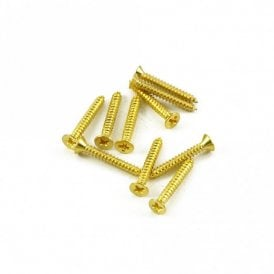 Humbucker Mounting Ring Screw Long Gold (Bag of 10)