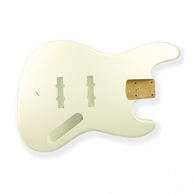 WD Music Jazz Bass Body Vintage White