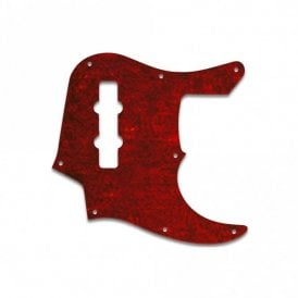 Jazz Bass Longhorn (22 Fret) - Tortoise Red