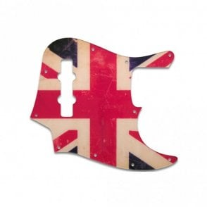 Jazz Bass Mexican Standard - British Flag Relic
