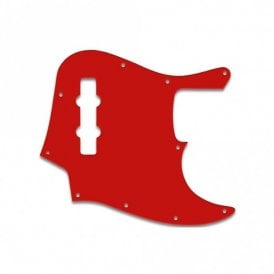 Jazz Bass Mexican Standard - Red/White/Red