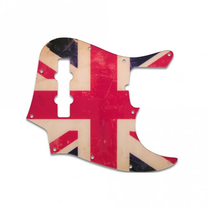 WD Music Jazz Bass US Standard - British Flag Relic