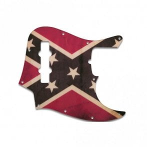 Jazz Bass US Standard - Dixie Flag Relic