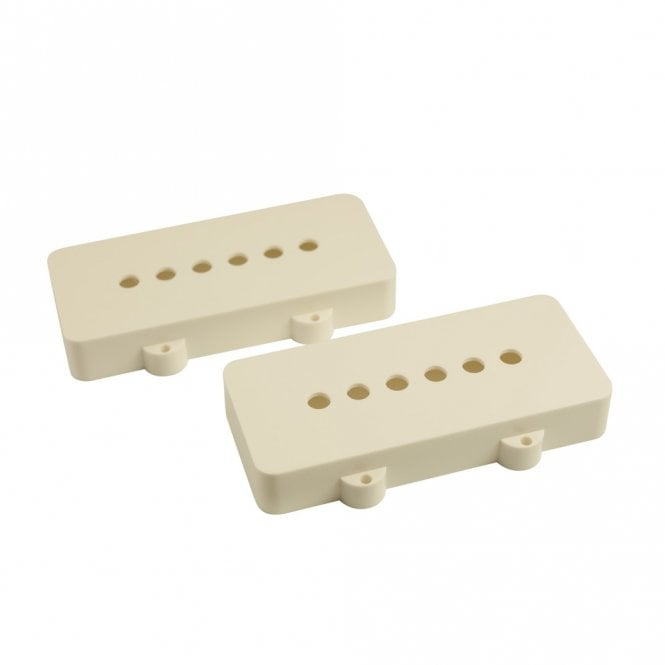 WD Music Jazzmaster Pickup Covers (Set Of 2) White