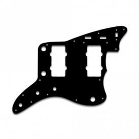 "Jazzmaster - Thin Shiny Black .060"" / 1.52mm Thickness, No Bevelled Edge"