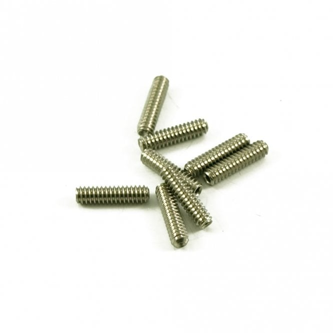 WD Music Long Strat Saddle Height Screw, Metric Thread, Allen Key Adjusted (Bag of 8)