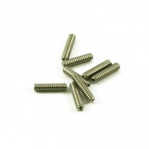 Long Strat Saddle Height Screw, Metric Thread, Allen Key Adjusted (Bag of 8)