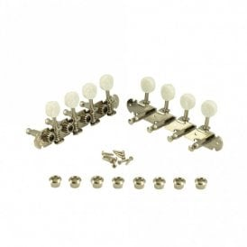 Mandolin Tuners in nickel finish, with bushes and screws