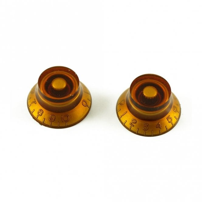 WD Music Metric Bell Knob Amber
