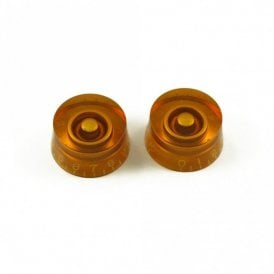 Metric Speed Knob Amber (Pair)