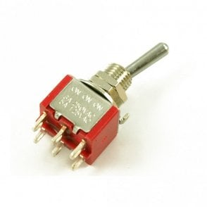 Mini Toggle Switch On/On/On