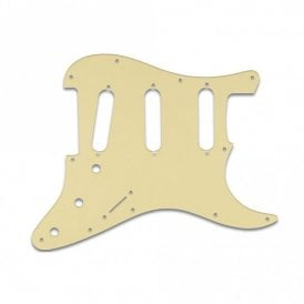 Old Style 11 Hole Strat - Cream